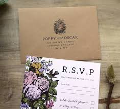 Wedding Invitations Northern Ireland Country Flower Wedding Invitation Set By Sweet Pea Sunday