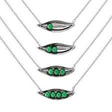 2 peas in a pod jewelry peas in a pod necklace peas in a pod necklace uncommongoods