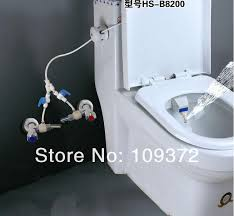 Luxe Bidet Mb110 Japanese Toilet Water Spray Just Plug It Into The Water Input To