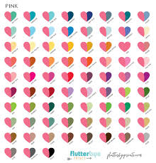 pink is a combination of what colors color options flutterbye prints color gallery