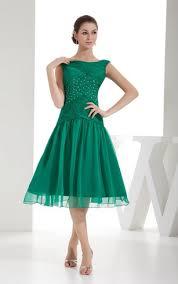 cheap tea length dresses below knee length prom dress dorris