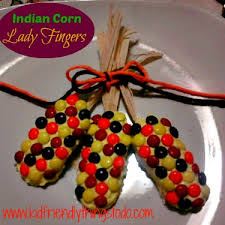 make indian corn with fingers and m ms kid friendly things