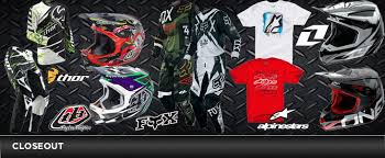 motocross gear on sale mx gear closeout motocross gear atv gear motocross atv