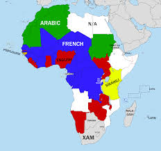 Map Of Africa Countries Languages Of African Countries U0027 National Mottos 1285 1200 Oc