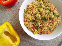comment cuisiner le boulgour salade de boulgour et lentilles rouges savormania