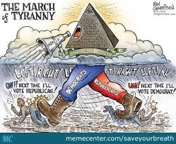 Libertarian Meme - march of tyranny vote libertarian this time by saveyourbreath