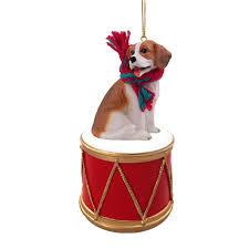 beagle drum ornament