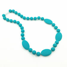 silicone bead necklace images Baby and mommy beads food silicone teething necklace pendants jpg