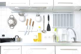 modern kitchenware modern kitchen at home with kitchenware stock photo picture and