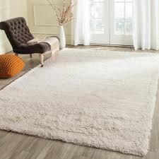 Livingroom Rug Home Decorators Collection Faux Sheepskin White 5 Ft X 8 Ft Area