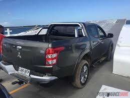 mitsubishi truck 2016 2016 mitsubishi triton review u2013 australian launch performancedrive
