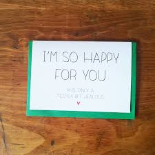 so happy for you congratulations card by witty hearts