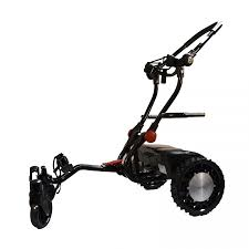 caddytrek mobile autonomous robotic golf cart caddy black
