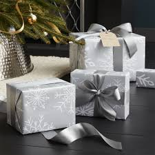silver christmas wrapping paper shop silver snowflake wrapping paper white snowflakes flurry