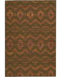 Graphic Area Rugs Spectacular Deal On Nourison Rug Squared Olympia Chocolate