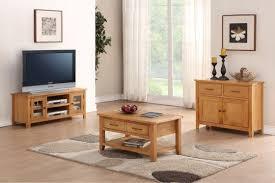 MODERN LIVING ROOM OAK DURHAM NATURAL OAK SELECTION OF LIVING ROOM - Oak living room sets