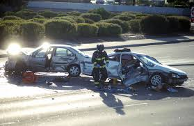 shooting causes 3 car collision on waterman boulevard