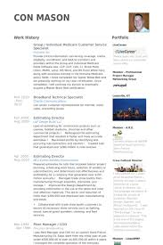 Resume Sample For Call Center Customer Service Resume Samples Visualcv Resume Samples Database