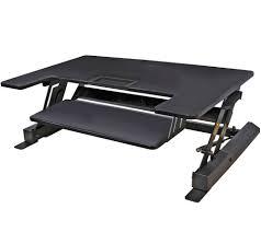 Espresso Secretary Desk by Office Furniture U2014 Furniture U2014 For The Home U2014 Qvc Com
