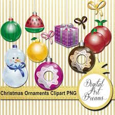 Christmas Ornaments Clipart Xmas Ornament Png New Years Clipart
