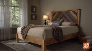 How To Build Bed Frame And Headboard How To Build A Diy Wooden Headboard Diy Projects How To