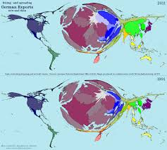 World Map Germany by 20 Years Of German Exports Views Of The World