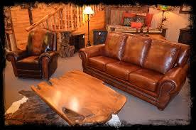 Real Leather Sofa Set by Log Beds Sofa Sets Genuine Leather Sofa And Glider U2013 Log Beds 4 U