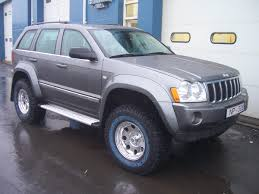 silver jeep grand cherokee 2007 fender flares for the wk found jeepforum com