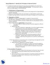 fraud internal control and cash principles of accounting