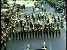 holy cross tiger band at the macy s thanksgiving day parade 11 26