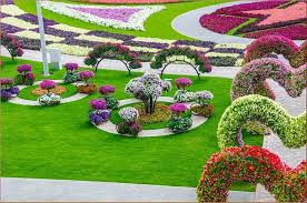 beautiful natural flowers garden the most beautiful and biggest