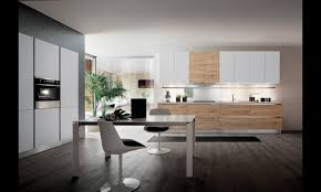 cuisine moderne blanche et cuisine moderne blanche et bois