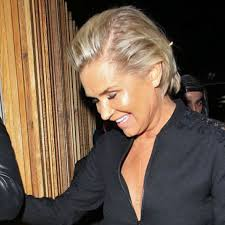 did yolanda foster cut her hair grin and bear it yolanda hadid attends gigi s party with exes