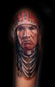 70 portrait tattoos for men realistic design ideas