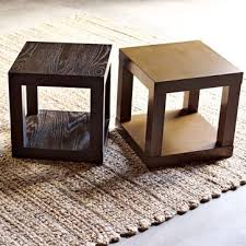 Cube Side Table Parsons Cube Side Table