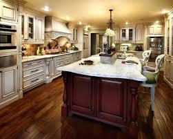 kitchen island cherry wood breathtaking cherry kitchen island a luxury kitchen with cherry