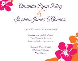 wedding invitations hawaii wedding invitation wedding invitations hawaiian wondrous