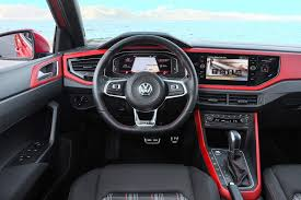 volkswagen polo automatic interior 2018 volkswagen polo gti review gtspirit