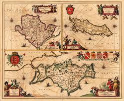 Map Of Nd Vintage Map Of The Isle Of Man