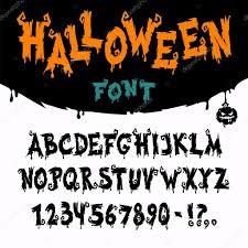 letra de halloween vector u2014 vector de stock voysla 53742801