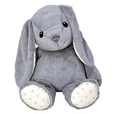 bunny plush cloud b hugginz plush bunny grey 22 baby