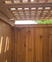 Outdoor Shower Privacy Panel  Stonewood Products
