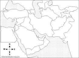 outline map middle east middle east outline map enchantedlearning