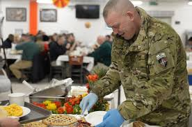 far from family us troops at kabul nato base celebrate