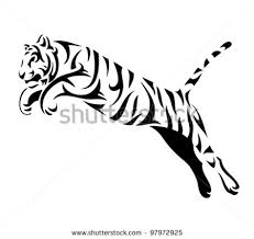 tribal snow leopard tattoo design photo 1 photo pictures and