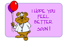 feel better cards get well greeting cards