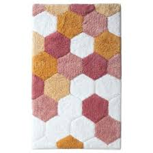 Ombre Bath Rug Ombre Hexagon Bath Mat Bed Bath Pinterest Bee Honeycomb