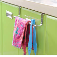 kitchen cabinet towel rack stainless steel towel bar holder over the kitchen cabinet cupboard