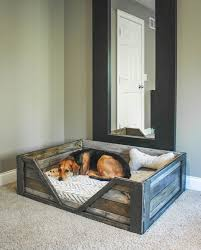 How To Make A Platform Bed Frame With Pallets by The 25 Best Wood Dog Bed Ideas On Pinterest Dog Bed Dog Beds