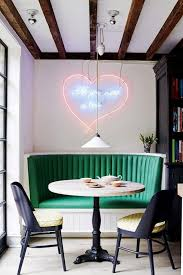 Is A Kitchen Banquette Right How To Find The Right Neon Art For Your Home Banquettes Neon